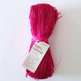 Raffia magenta/roze