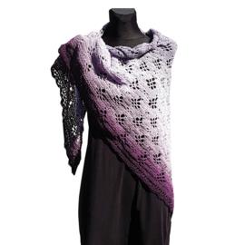 Omslagdoek Mulberry paars - TSH00298