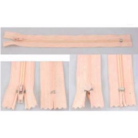 Rits 19 cm - roze - niet deelbaar - D12393