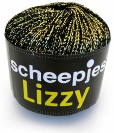 Lizzy 10 zwart/goud - Scheepjeswol