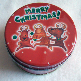 Wierook in kerstblik rood, cinnamon