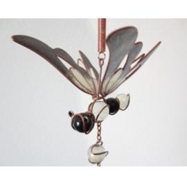Windgong vlinder zwart - D11976c
