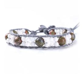 Lulu armband wit - S10993