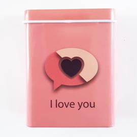 Sigarettendoosje hearts 4 - D12735