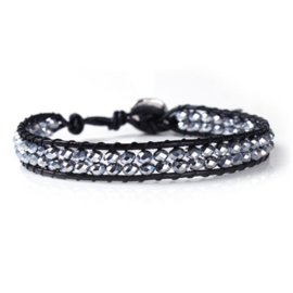 Lulu armband zilverkleur - S10996