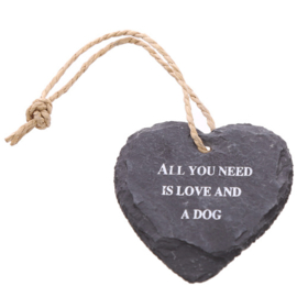 Hart - All you need is love and a dog - D12827c