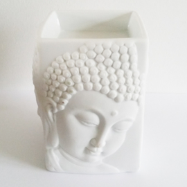Olieverdamper vierkant - boeddha wit - D12937