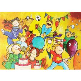 Kaart feestje - Sidedish - SD0020