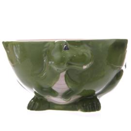 Ontbijtkom draak groen - D11488b