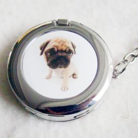 Tashaak hondje met spiegel - D10282