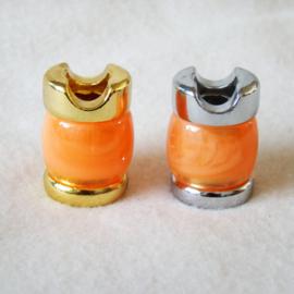 Sigarettendover marble oranje - D11762