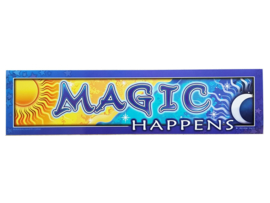 Bumpersticker Magic Happens - D11118