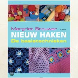 Boek Nieuw Haken - De basistechnieken van Margriet Brouwer - D12253