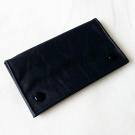 Shagetui kunstleer zwart - D12502