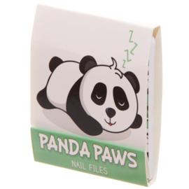Nagelvijltjes panda groen - D12831a