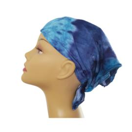 Tie Dye bandana blauwtinten