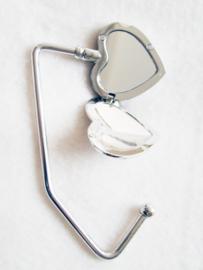 Tashaak hart met spiegel - D10150