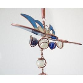 Windgong vlinder blauw - D11976a