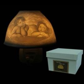Electrisch nachtlicht cherubijn engeltjes - O10581