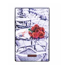 Sigarettendoosje tafel met rozen - D12894