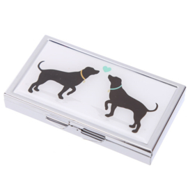 Pillendoosje honden - 7 dagen - D12644b