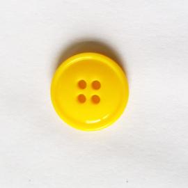 Knoop geel 19 mm - D12088