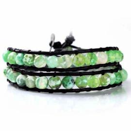 Lulu armband groen - S10987