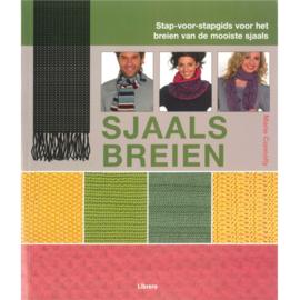 Boek Sjaals breien - D12108