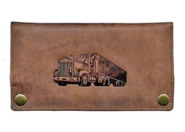 Shagetui leer bruin, truck - D10737