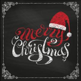 Servet Merry Christmas - 5 stuks - D13146