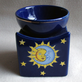Olieverdamper zon/maan, blauw - O10405