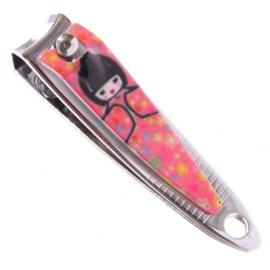 Nagelknipper geisha roze - D10889c