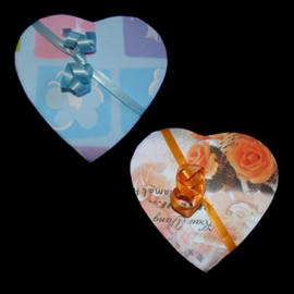 Doosje in hartvorm - V10005