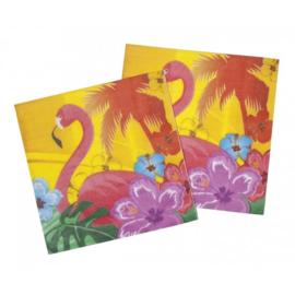 Servet Hawaii Hibiscus (5 stuks) - D13095