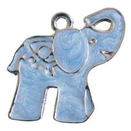 Bedel olifantje blauw