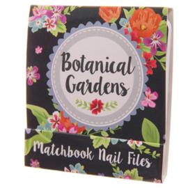 Nagelvijltjes botanical gardens zwart - D12830b