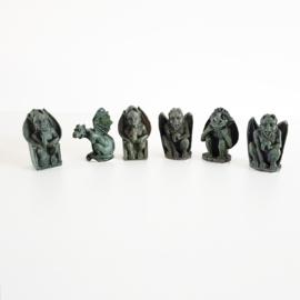 Set van 6 Gargoyle beeldjes - D11508