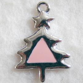 Bedel kerstboom roze - S10318