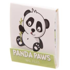 Nagelvijltjes panda lichtgroen - D12831c