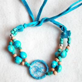 Dromenvanger armbandje blauw - 111858