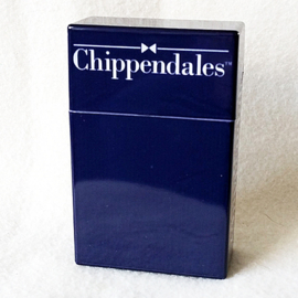 Sigarettendoosje Chippendales blauw - D12532