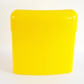 Sigarettenkoker plastic, geel - D10583