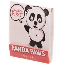 Nagelvijltjes panda roze - D12831b
