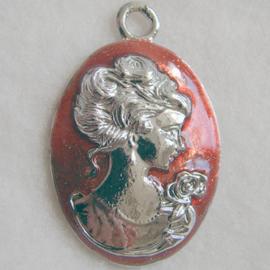 Hanger vrouw rood - S10230