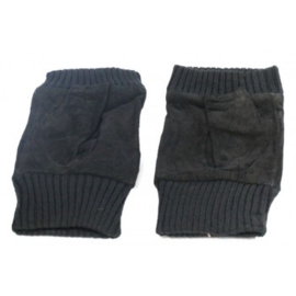 Vingerloze handschoen zwart - D13015