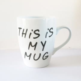 Mok met tekst - This is my mug - WD00073