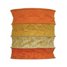 Lokta lamp Bari orange
