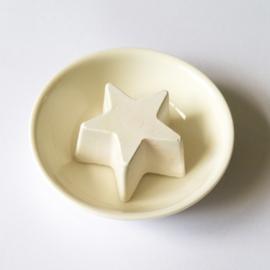 Geursteentje witte ster - D12336