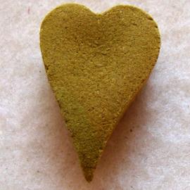 Wierook in hartvorm cinnamon (kaneel) (10 stuks) - O10165