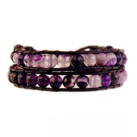 Lulu armband paars - S11000